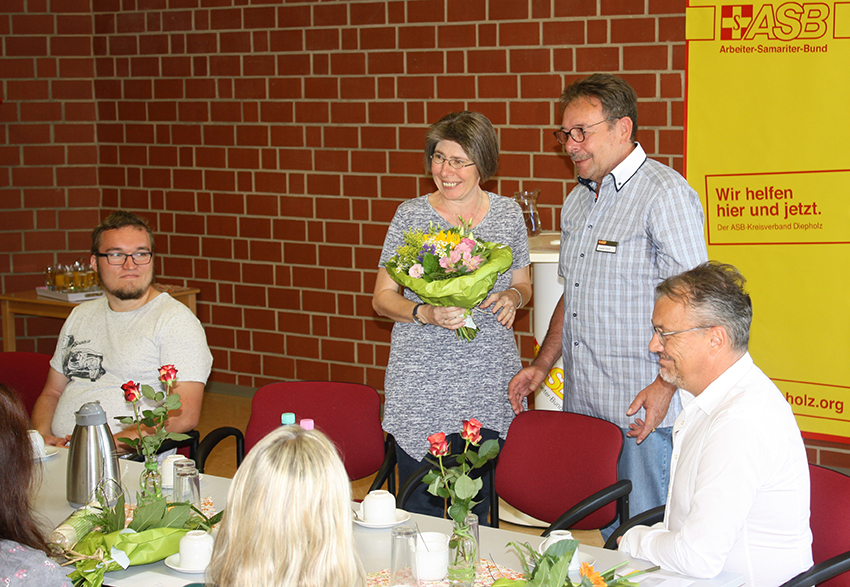 Begrüßung der neuen Leitung Frau Humburg